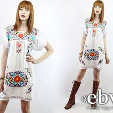 shop vintage mexican dresses on wanelo