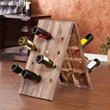 rustic wine riddling rack wooden a frame wine rack u2013 belleview