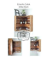 best 25 wall hanging wine rack ideas on pinterest hanging wine