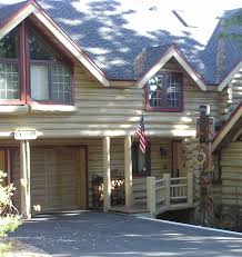 exterior paint colors for rustic homes and cabins