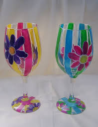 decorating wine glasses home decor u0026 furniture
