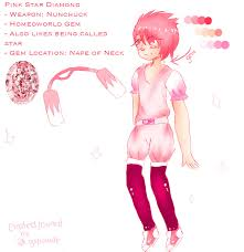 pink star diamond pink star diamond gemsona by crystalcamethyst on deviantart