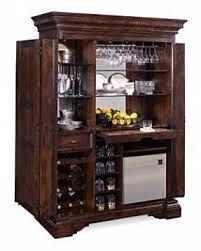 Folding Bar Cabinet Wine Bar Furniture With Refrigerator Foter
