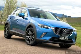 mazda cx3 2015 mazda cx 3 goes on sale in thailand from rm102k