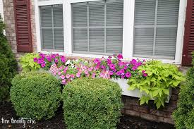 What To Plant In Window Flower Boxes - front yard florals and lawn
