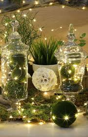 Light Up Topiary Balls - going green apothecaries fairy and lights