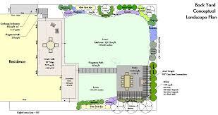 backyard plan design exles