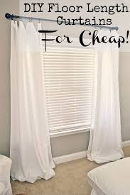 Crate And Barrel Curtain Rods Decor 9 Genius Decorating Hacks Using Tablecloths Window Treatments