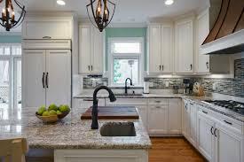 Kitchen Backsplash Photos White Cabinets Dark Kitchen Cabinets With Blue Backsplash U2013 Quicua Com
