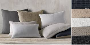 Grey Linen Cushions All Pillow U0026 Throw Collections Rh