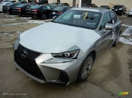 lexus f sport red interior 2017 atomic silver lexus is 350 f sport awd 117727493 gtcarlot