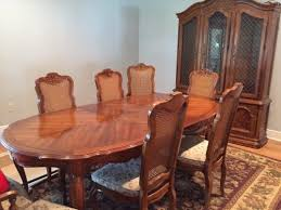 Drexel Dining Room Furniture Drexel Dining Room Table And China Cabinet Classifieds