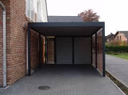 design carport holz metallcarport stahlcarport mit abstellraum bochum metallcarport
