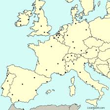 map western europe cities test your geography knowledge western europe major cities