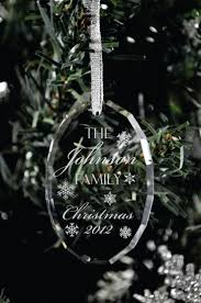 etched glass ornaments personalized ornament etched glass ornaments personalized arresting photo