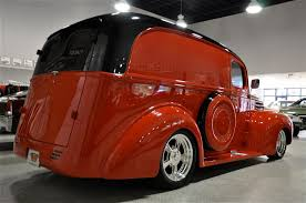 ford truck red 1947 ford panel truck red hills rods and choppers inc st