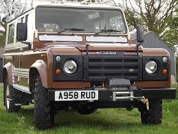 kahn land rover defender 110 1983 land rover 110 county station wagon up for auction as the