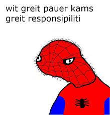 Spiderman Meme Face - spiderman drawing meme clipartxtras