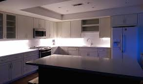 Kitchen Light Under Cabinets Residential Led Strip Lighting Projects From Flexfire Leds