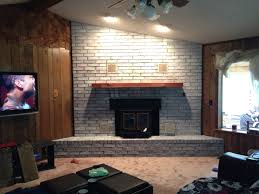 interior fireplace bricks how to whitewash stone fireplace