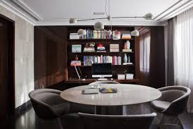 reading and home library interior by kiko salomao home design