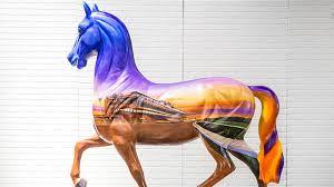 California Flag Horse How The Breeders U0027 Cup Inspired California Artists Cnn