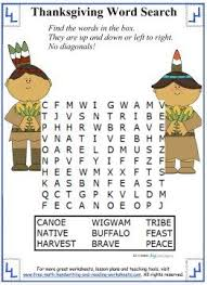 7 best thanksgiving word search images on thanksgiving