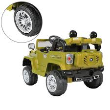 electric jeep for kids lees jeep 12v electric kids car green big toys direct