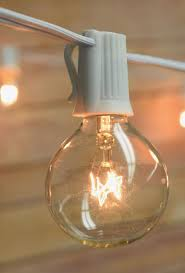 lantern lights globe light 10 socket g40 clear bulbs 12 ft