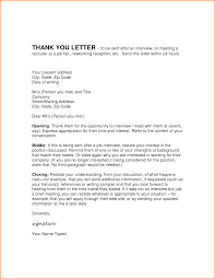 Thank You Letter After Interview Current Employer Cover Letter Job Fair