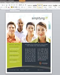 creating a marketing flyer with microsoft word 2010 marketing