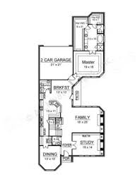 grey rock narrow house plans luxury house plans