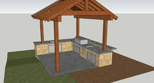 3d outdoor kitchen and arbor washington county landscapes