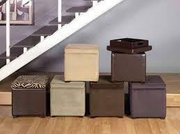 storage ottoman cube footstools and ottomans storage ottoman