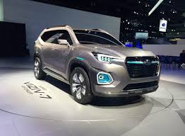 Subaru Returns To 3 Row Suv Game With Viziv 7 Concept