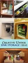 kitchen under cabinet storage creative under sink storage ideas hative