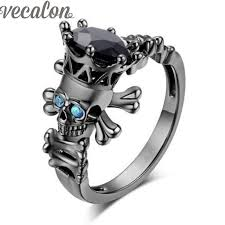 skull wedding rings for get cheap engagement skull ring aliexpress alibaba