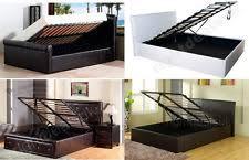 double lift up storage bed ebay