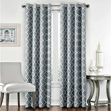 curtains for livingroom flamingop light blocking moroccan insulated blackout