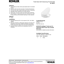 Kohler Toilet Seat Hinge Kohler K 18751 0 C3 050 White Toilet Seats Elongated Bathroom