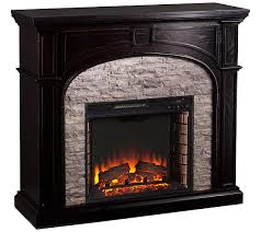 Infrared Electric Fireplaces by Tanaya Infrared Electric Fireplace U2014 Qvc Com