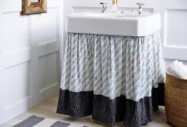Dress Up Vanity 14 Hidden Storage Ideas For Your Bathroom Brit Co
