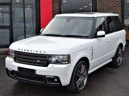 land rover range rover white used land rover cars bradford second hand cars west yorkshire