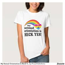 Kenya Flag Clothing My Sexual Orientation Is Heck Yes Pansexual Lgbt T Shirt Lgbt