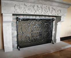Best Fireplace Screen by Glass Fireplace Screens Doors Home Fireplaces Firepits Best