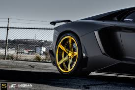 cars lamborghini gold matte black lamborghini aventador savini forgred wheels sv59d high