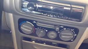 sony dsx a40ui car stereo installation on 1998 1999 2000 2001 2002
