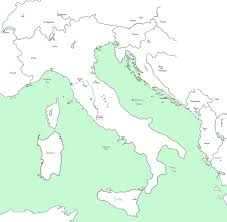 Physical Map Of Europe Rivers by Rome