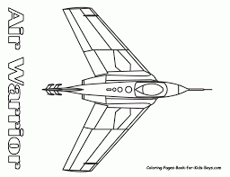 jet plane coloring pages kids coloring