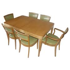 retro dining table and chairs antique regency dining table with 8 vintage chairs at 1stdibs